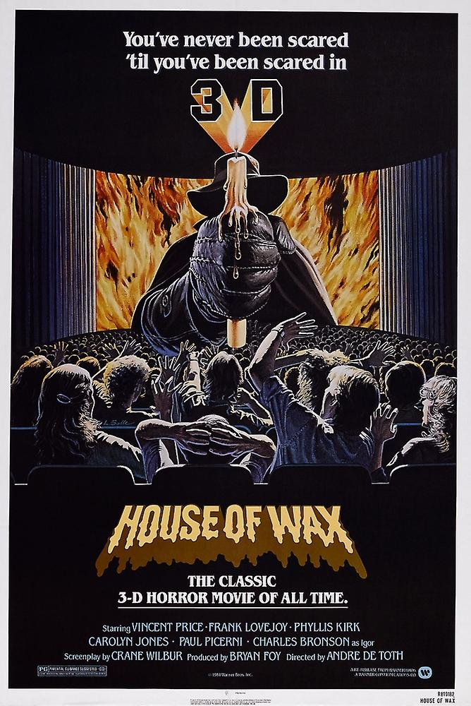 House Of Wax Reissue Poster Art 1953 Movie Poster Masterprint