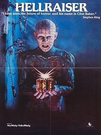 Original hellraiser movie poster