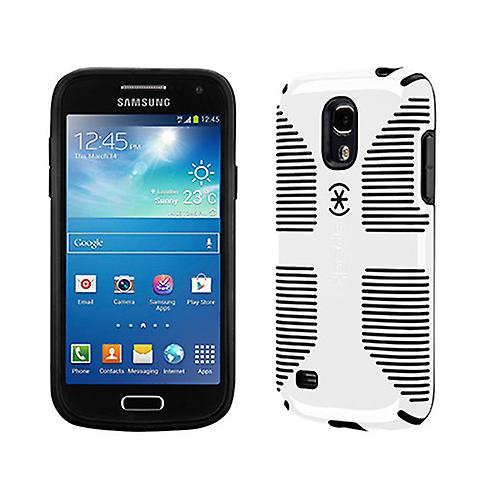 reputable site b73f1 0217e Speck CandyShell Grip Case for Samsung Galaxy S4 Mini (White/Black)