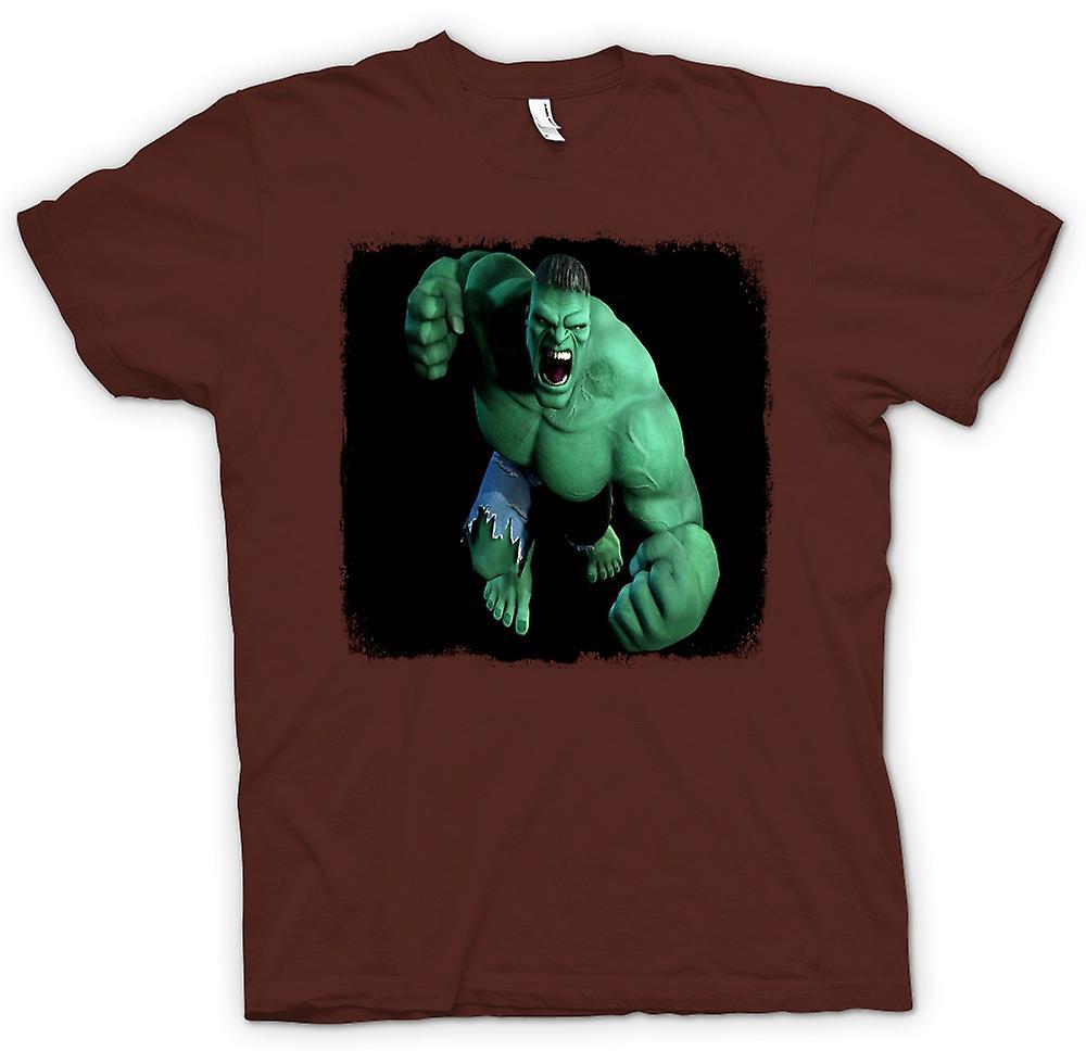 Womens t shirt incredible hulk fist fruugo for Hulk fishing shirts