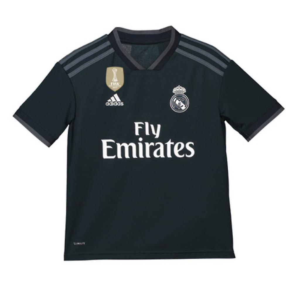 240904120 2018-2019 Real Madrid Adidas Away Shirt (Kids) | Fruugo