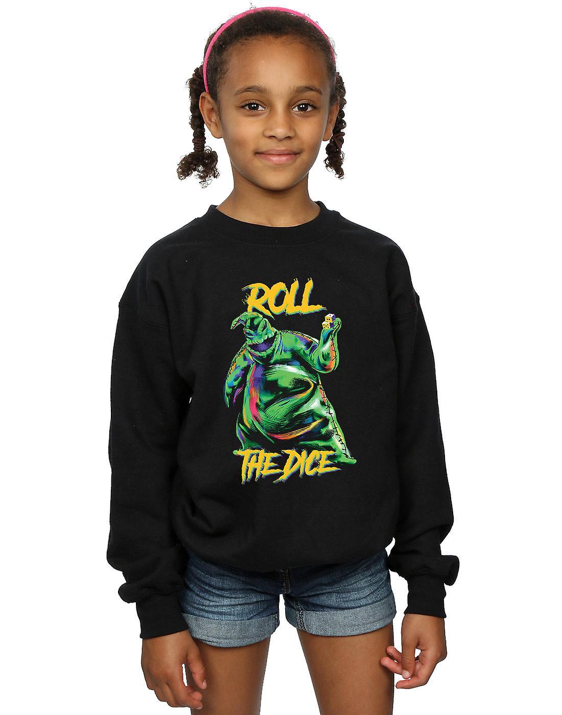 Disney Girls Nightmare Before Christmas Oogie Boogie Dice Sweatshirt ...