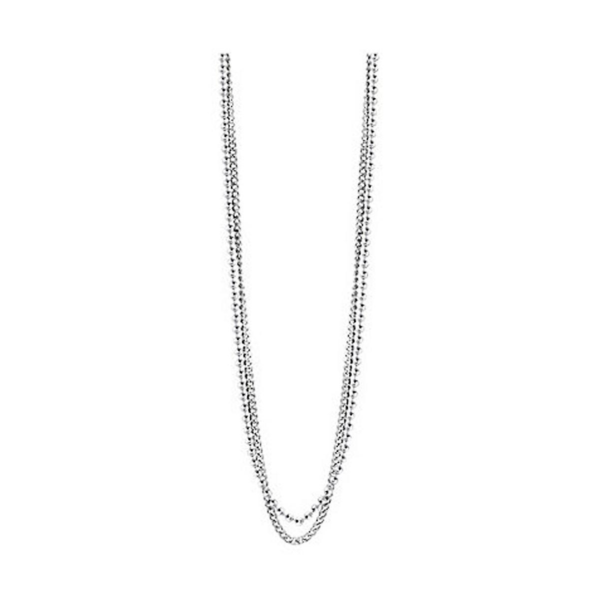 9b3ce511b615 Cadena collar de acero inoxidable GUESS hombre UMN21509 de plata ...