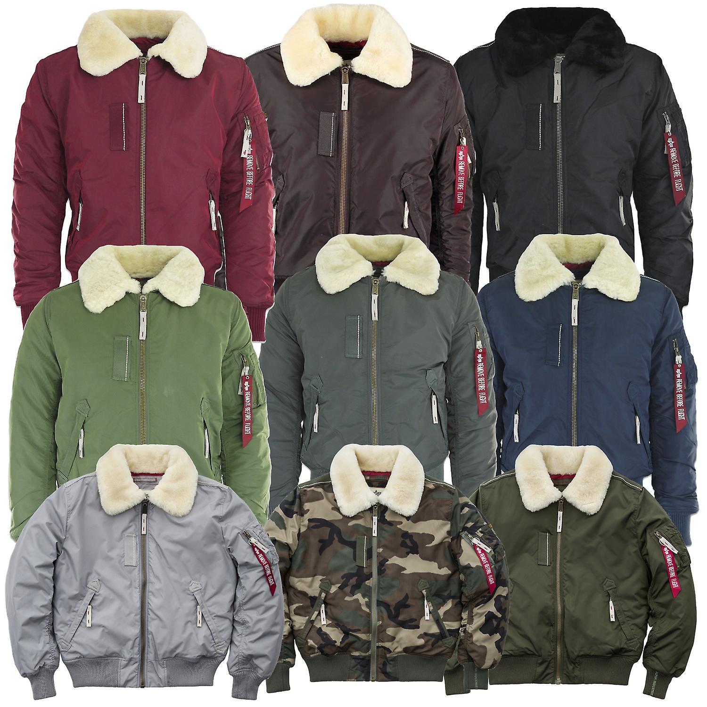 newest 9a626 62b4c Alpha industries men's winter jacket injector III.