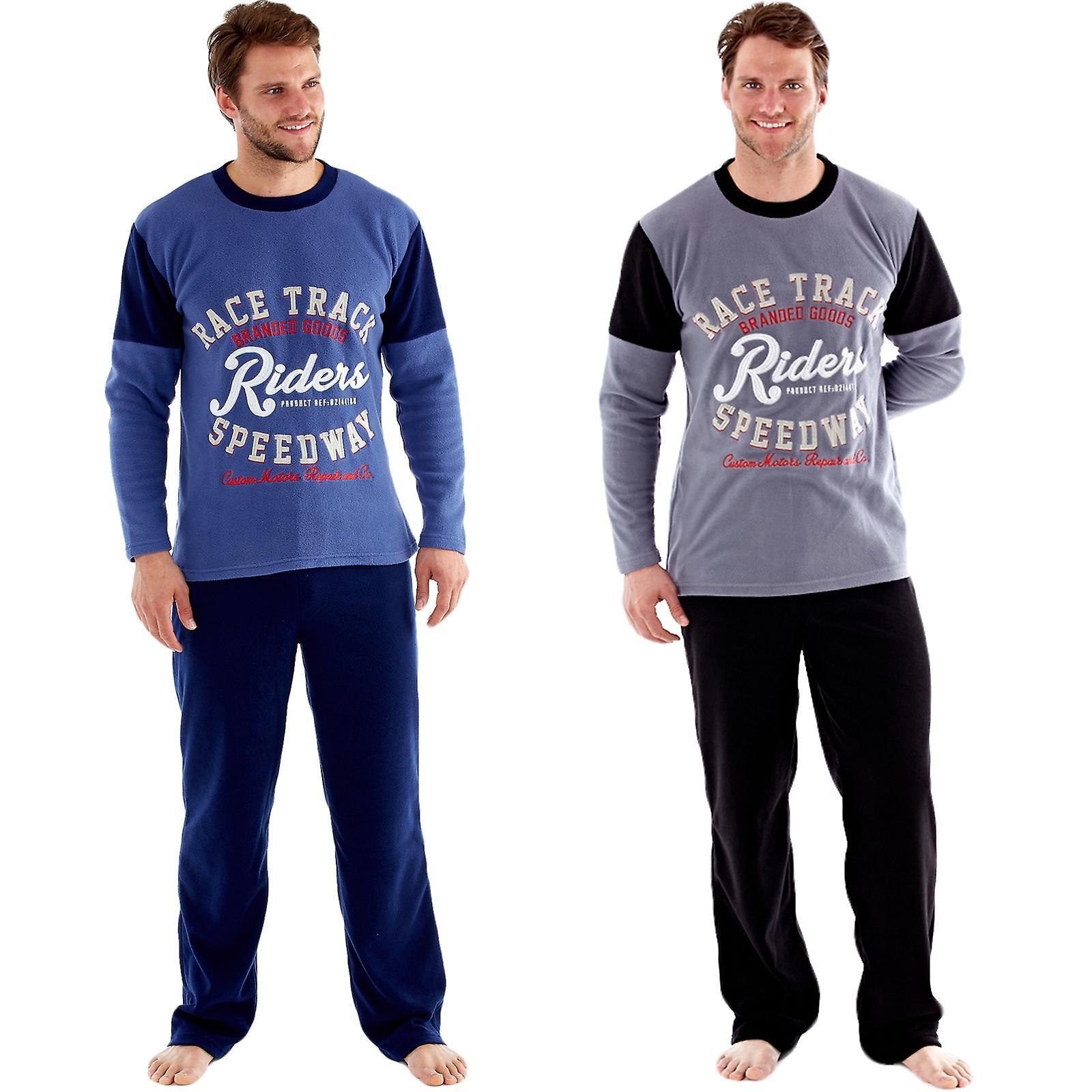 Pijama de Forro Polar t/érmico para Hombre Harvey James