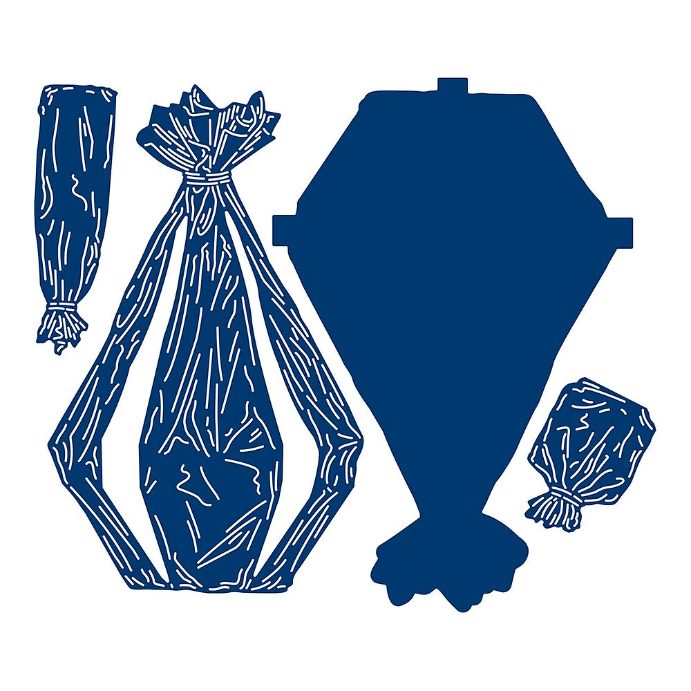Tattered Lace Cellophane Wrap Die Set