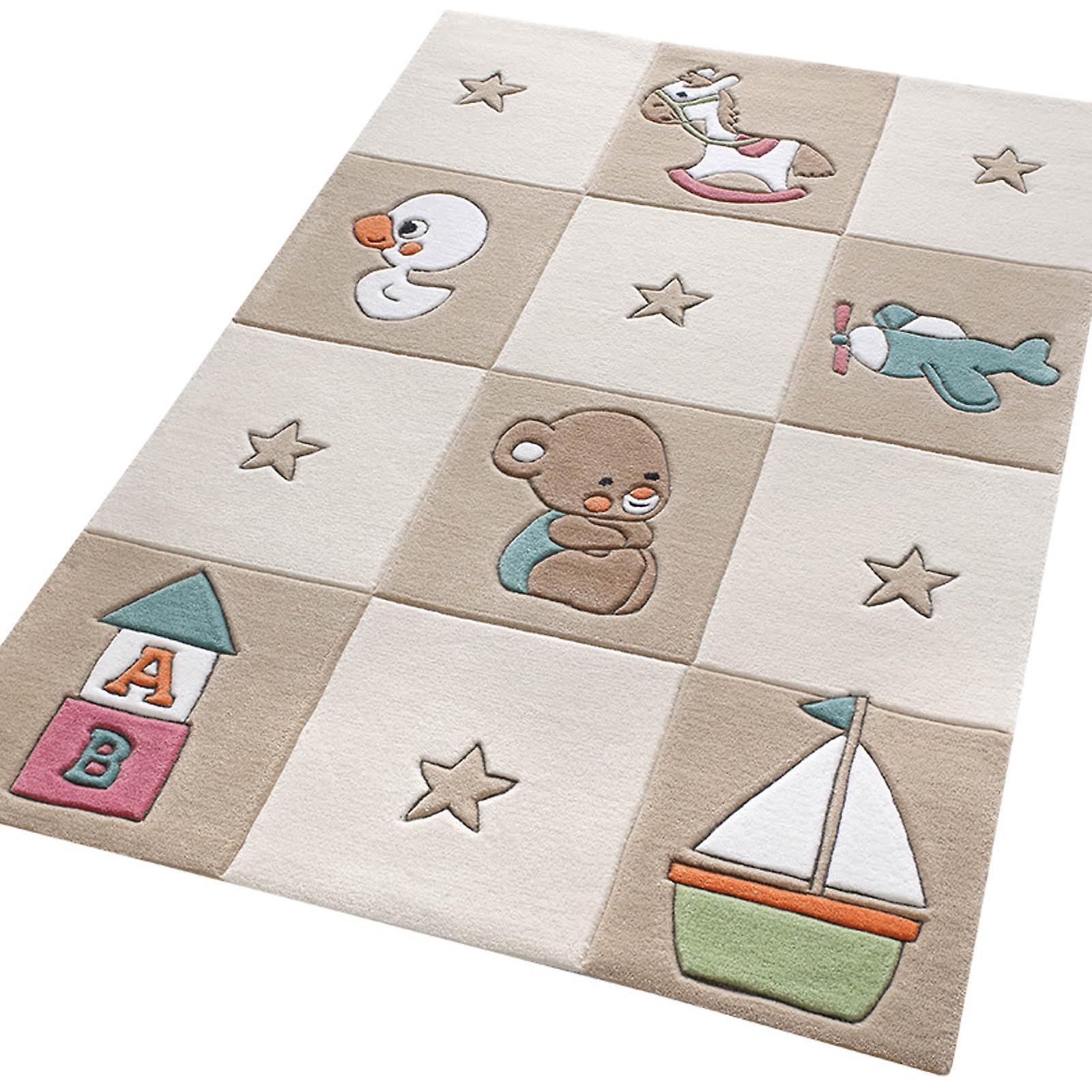 Teppich Babyzimmer Beige
