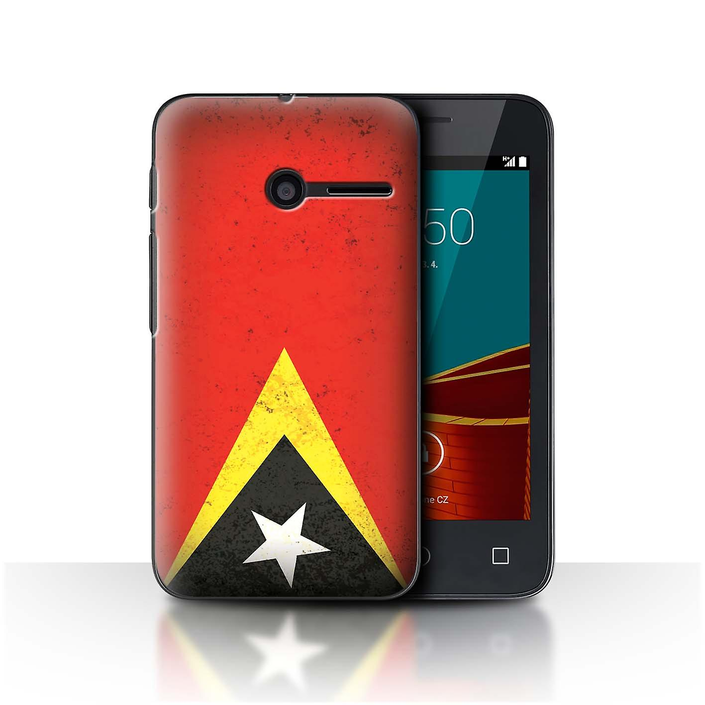 pretty nice b47a9 e8253 STUFF4 Phone Case/Cover for Vodafone Smart First 6 / Timor-Leste/Timorese  Design / Asian Flag Collection