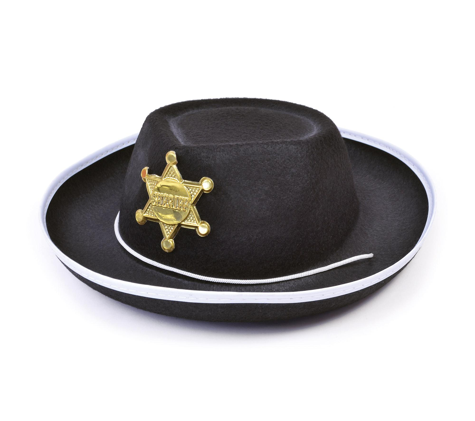 Black Cowboy Hat with Red Pa  amazoncom