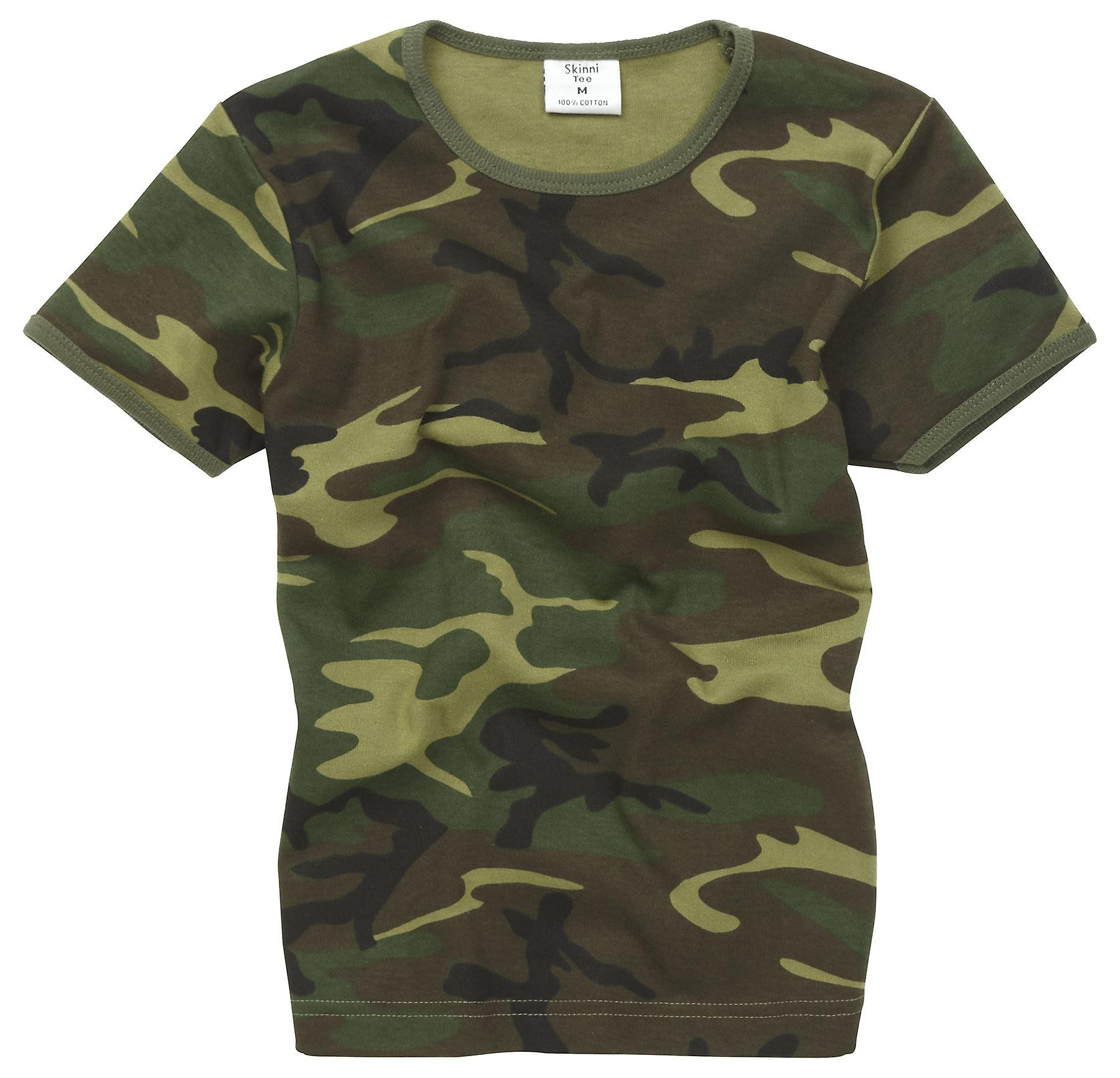 buy online 7e04d 43197 Kids New Combat Military Us Army Style T-Shirt