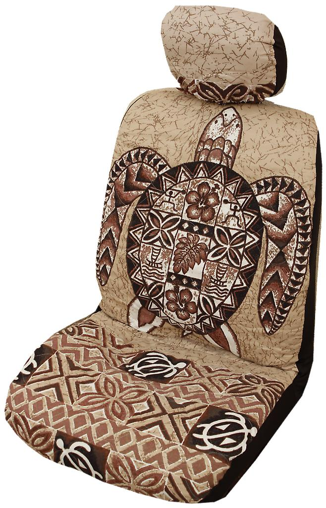 Groovy Side Airbag Optional Sea Turtle Separate Headrests Hawaiian Car Seat Covers Uwap Interior Chair Design Uwaporg