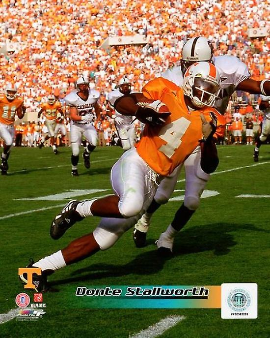 Donte Stallworth University Of Tennessee Volunteers 1999 Action Photo Print