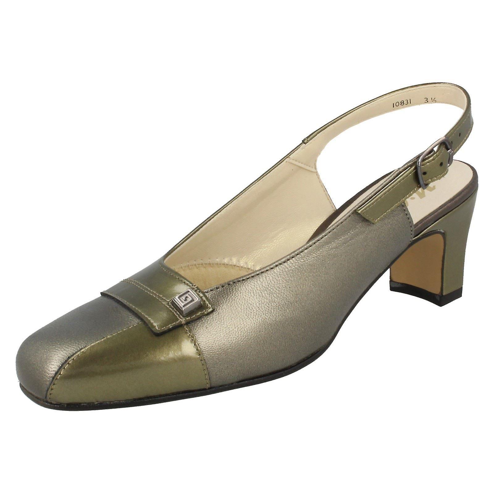 f8e6c1aa012 Ladies Nil Simile Narrow Fitting Slingback Shoes Delaware