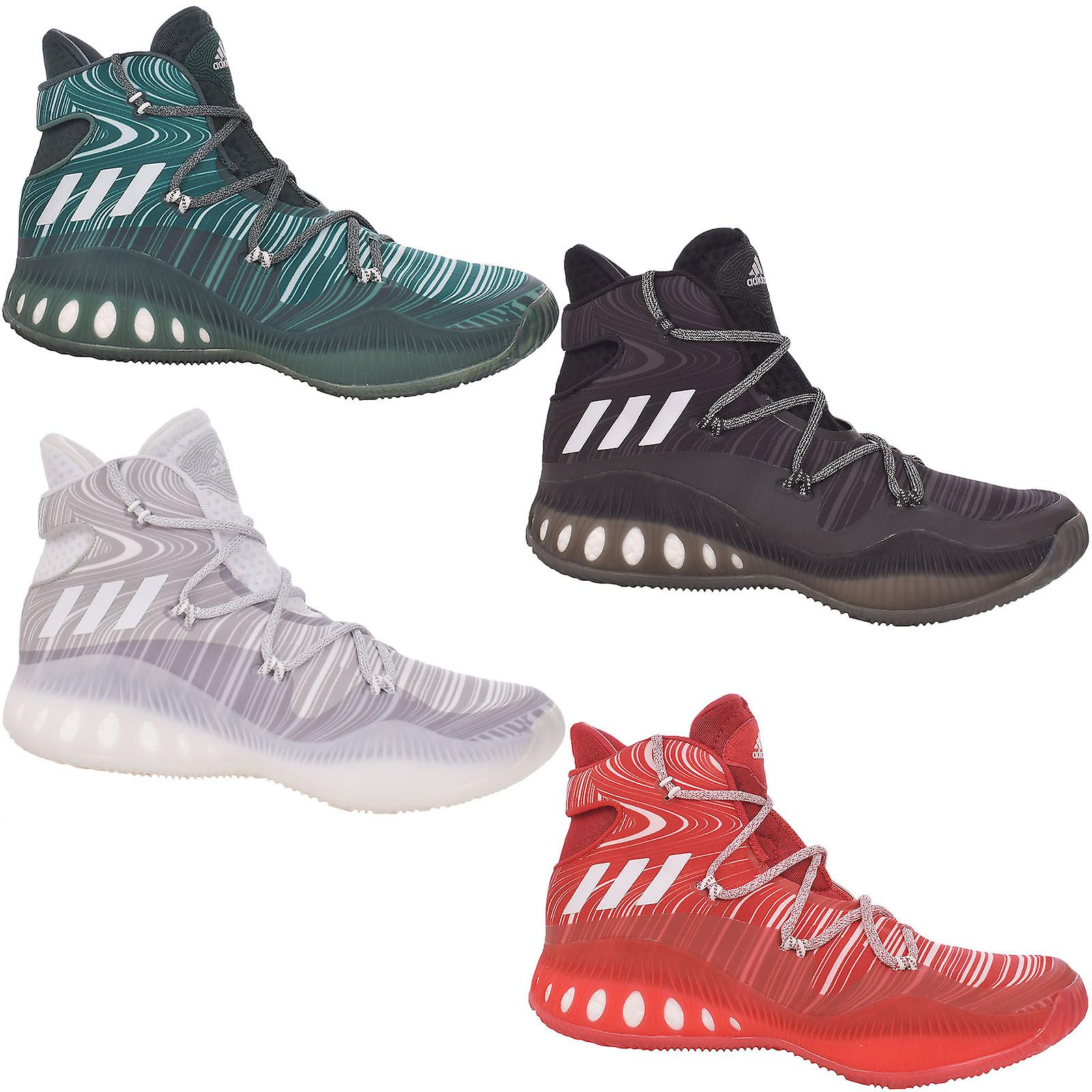 check out 7e943 82048 adidas Performance Mens Crazy Explosive Basketball Trainers Training Shoes