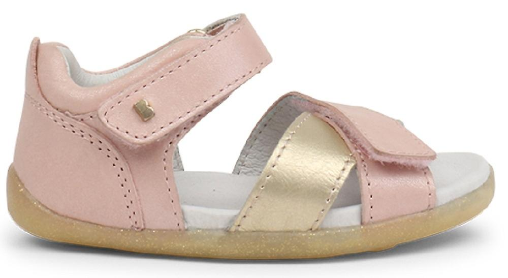 l'ultimo 6b079 df7e3 Bobux Step Up sandali vela arrossire oro rosa