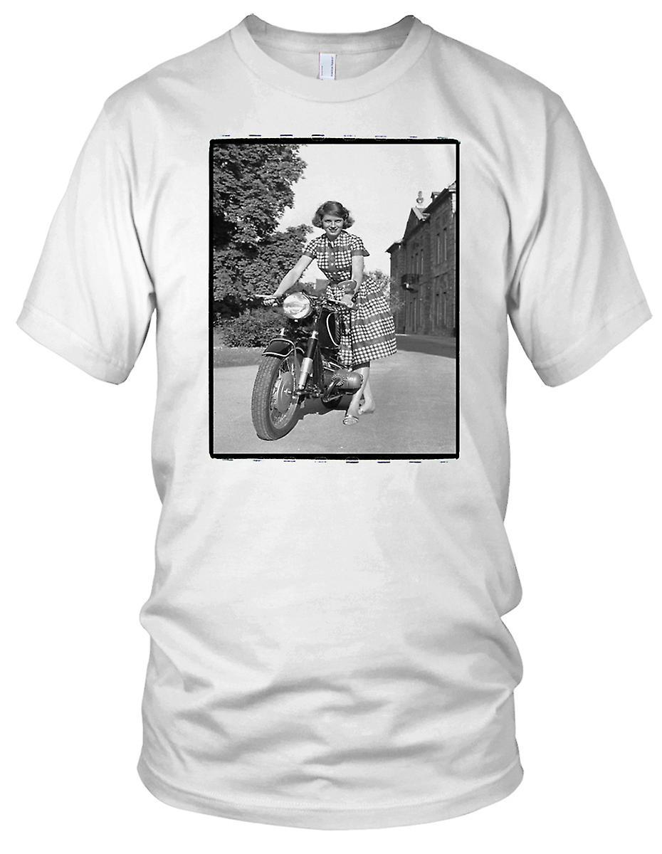 Klassische Bmw Motorrad 70er Jahre Madchen Motorrad Biker Herren T