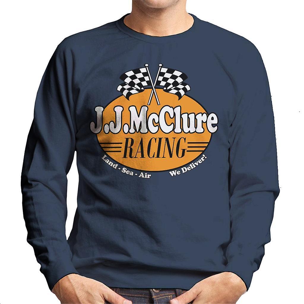 20b18e24fdf Burt Reynolds JJ McClure Racing Cannonball Run Men s Sweatshirt