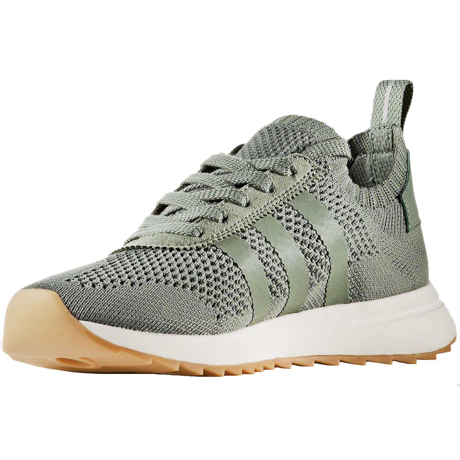 Adidas Originals Womens FLB W PK Lace Up Sneakers Trainer Freizeitschuhe Green