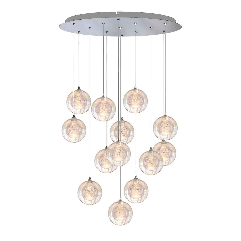 Picture of: Trioen Belysning Orlando Moderne Hvit Marmor Bordlampe