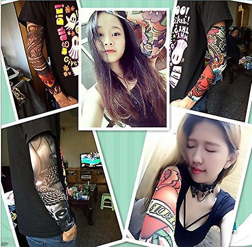 falske tatoveringer ærmer