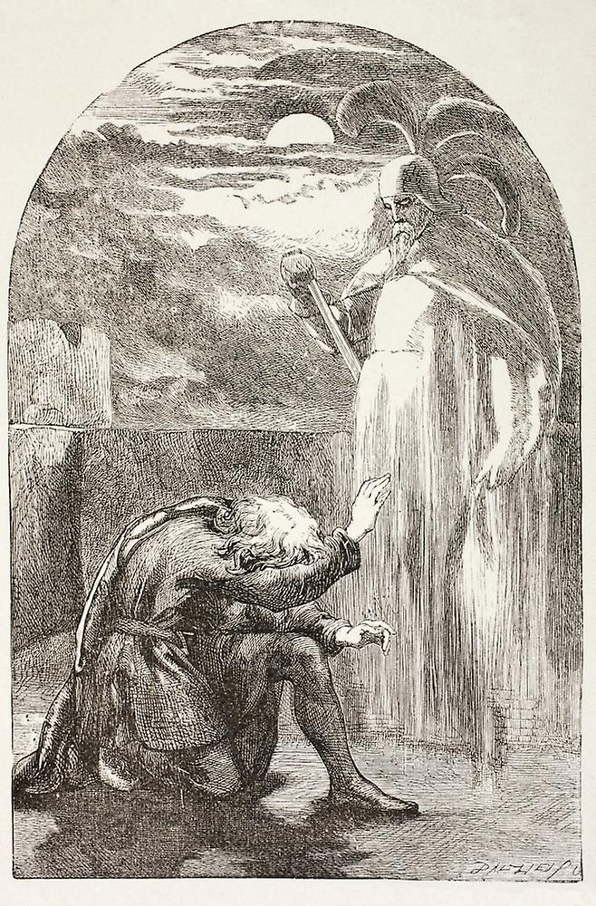 the ghosts deception in hamlet by william shakespeare In shakespeare's julius caesar, probably written just a year or two before hamlet, a ghost also appears to a leading character on the eve of battle on the night before the battle of philippi, brutus is sleepless while all around him doze off.