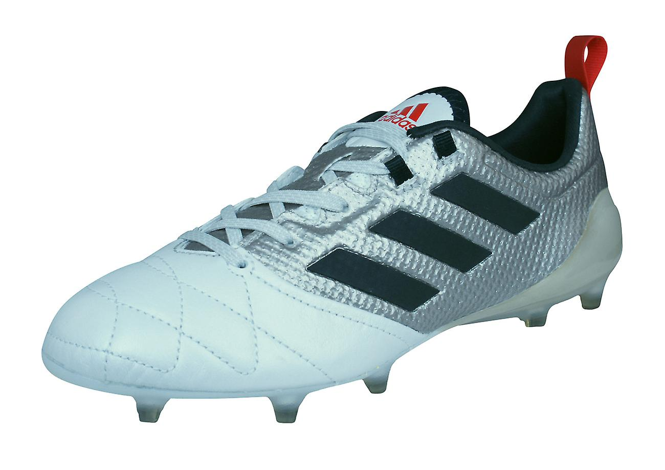 info for 2c923 a9a89 adidas Ace 17.1 FG Womens Leather Football Boots / Cleats - Metallic Silver  and White