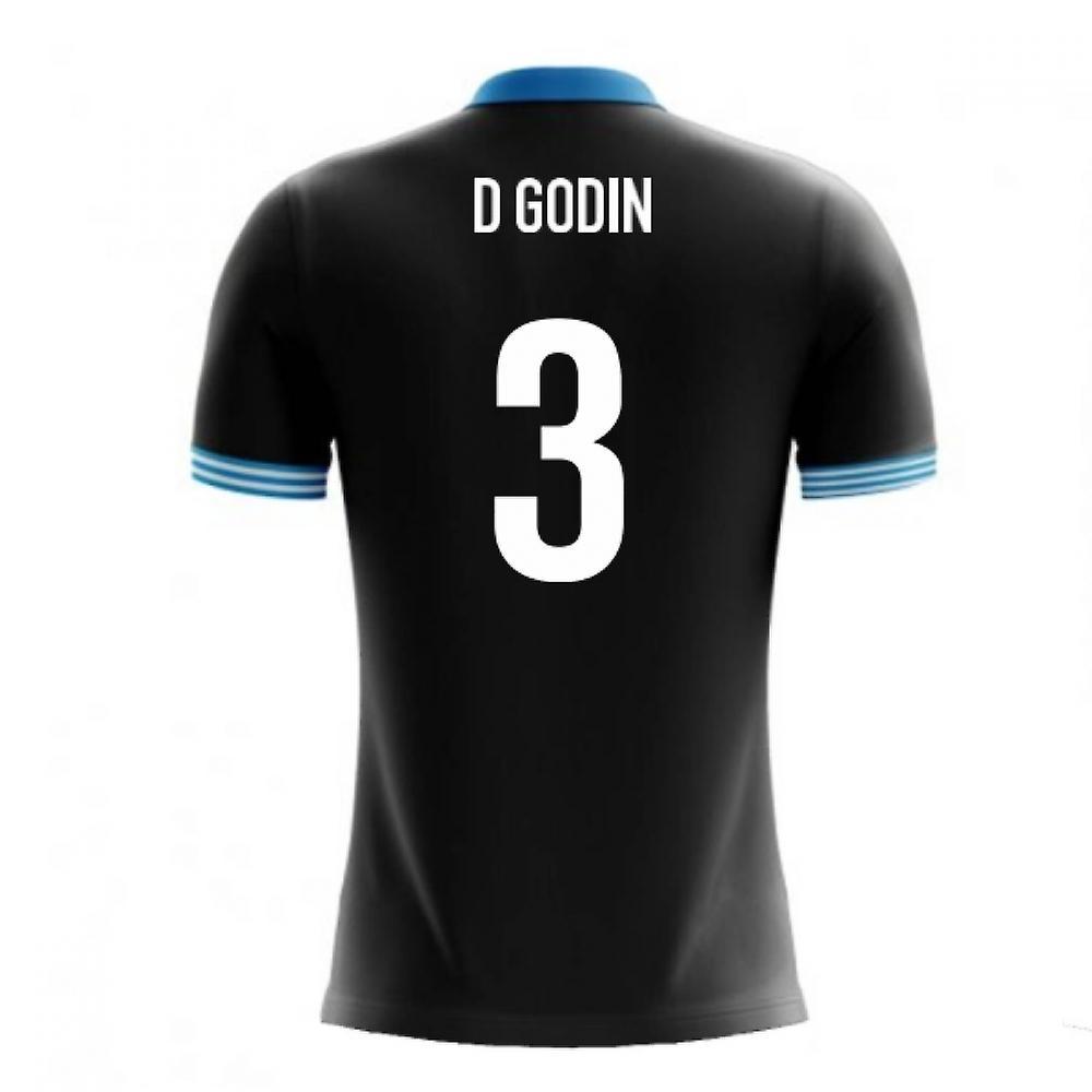 507695566 2018-19 Uruguay Airo Concept Away Shirt (D Godin 3) - Kids
