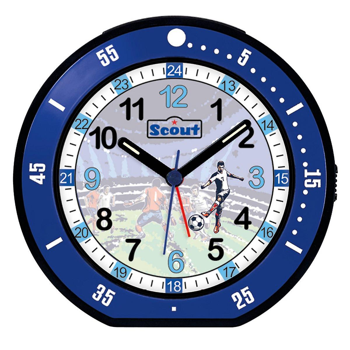 Scout Kinder Wecker Alarm Jungen Minute Fussball Blau 280001004
