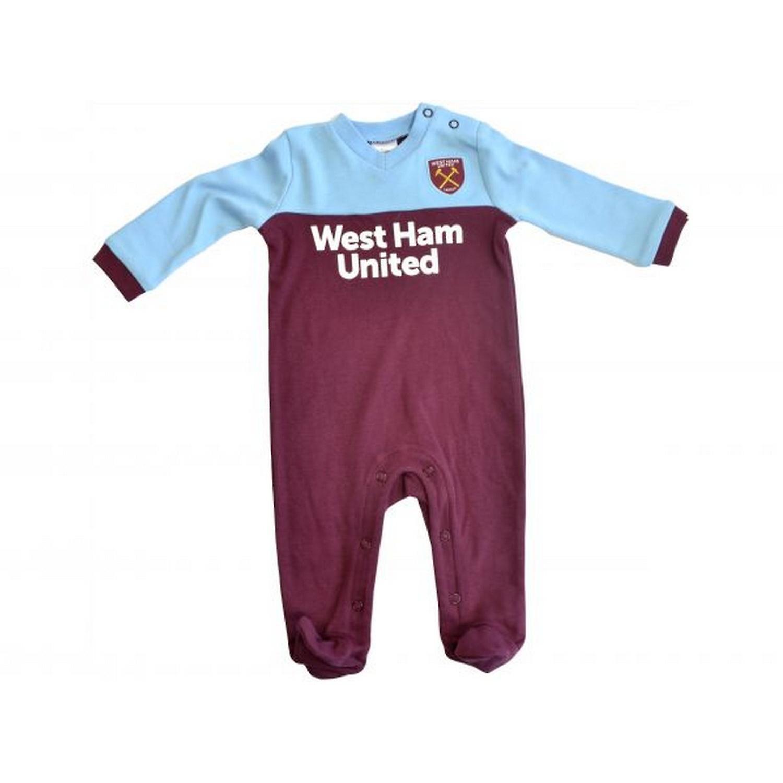 West Ham United F.C 3//6 Months Sleepsuit GIFT BABY