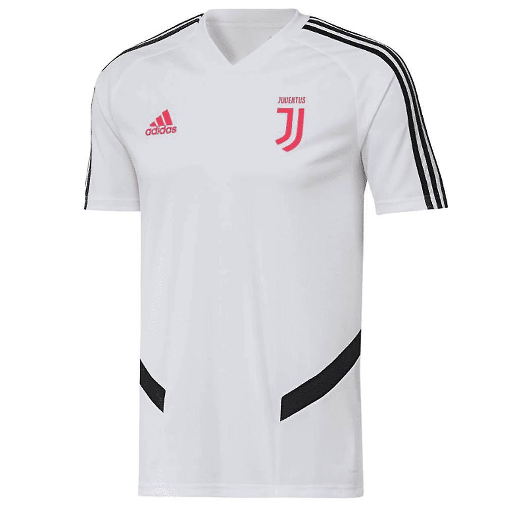 brand new 78a35 61e65 2019-2020 Juventus Adidas Training Shirt (White)