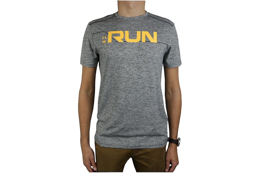 df204448 Under Armour Run Front Graphic SS Tee 1316844-952 Mens T-shirt