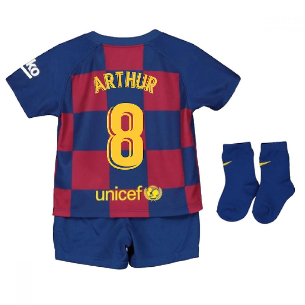 cheaper 2f3e0 80d90 2019-2020 Barcelona Home Nike Baby Kit (ARTHUR 8)