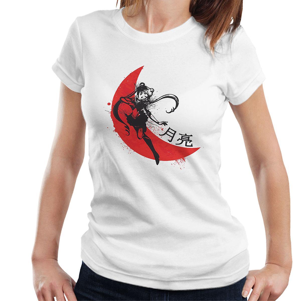 d7116d9aadcb63 Rote Sonne Sailor Moon Damen T-Shirt   Fruugo