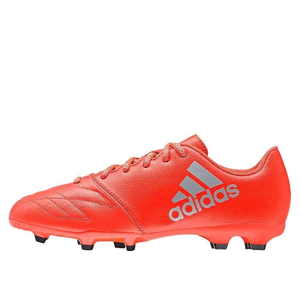3ae1b17f570a Adidas X 163 FG J Leather AQ3637 football all year kids shoes   Fruugo
