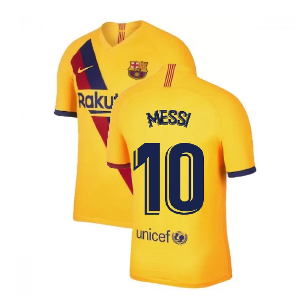 2019 2020 Barcelona Vapor Match Away Camiseta Nike (MESSI 10)