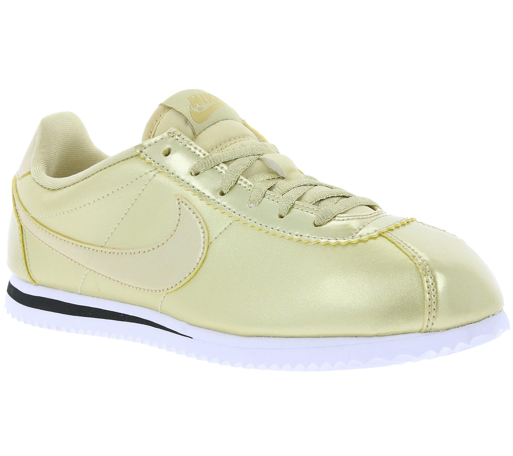new concept 2ef68 3c542 NIKE Cortez Special Edition GS barn sneaker guld 859569 900