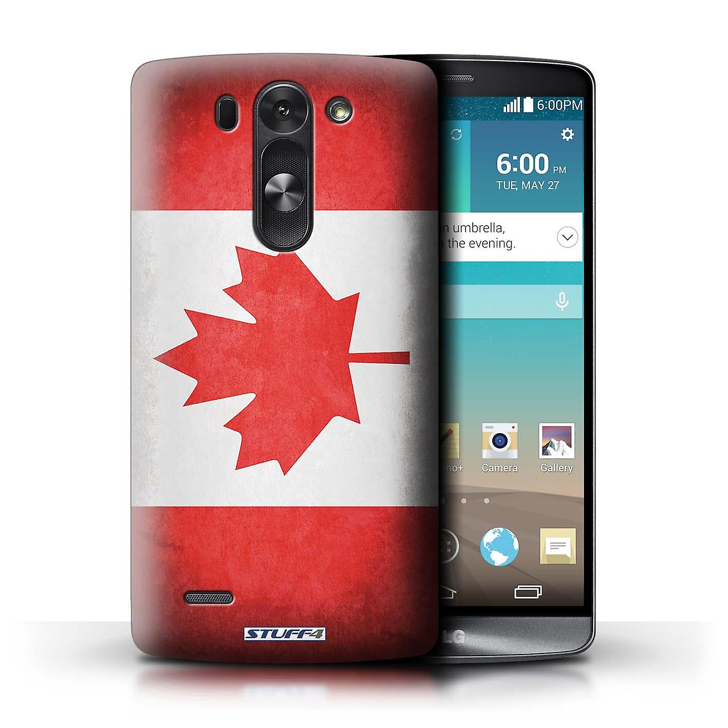 buy popular 90347 67f50 STUFF4 Case/Cover for LG G3 S (Mini)/D722/Canada/Canadian/Flags