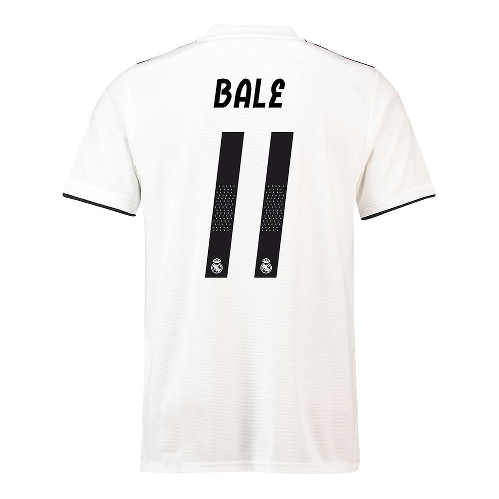 buy popular 1004d 733b8 2018-19 Real Madrid Home Football Shirt (Bale 11)