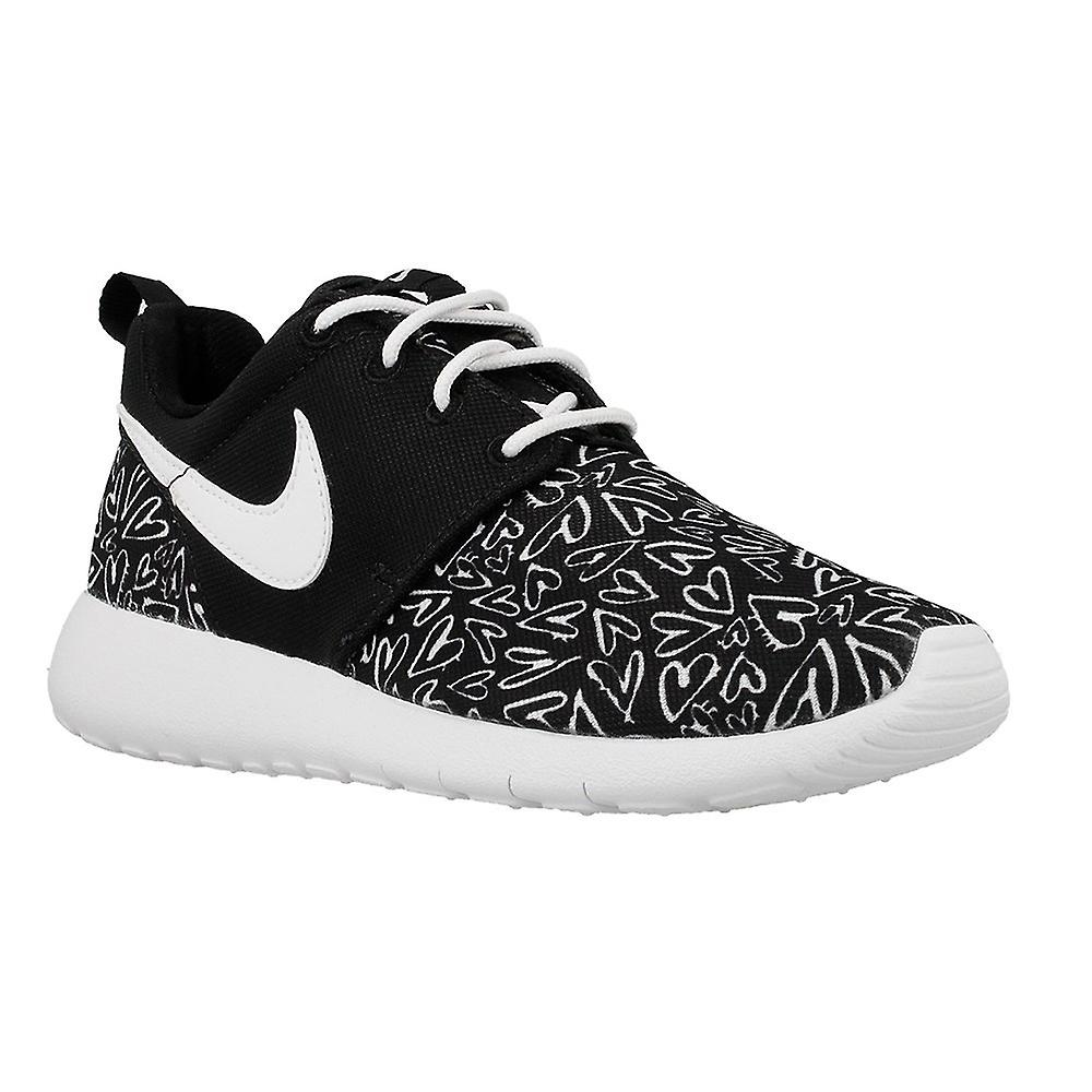 best service d718b 5329c Nike Roshe One Print GS 677784005 universal all year kids shoes