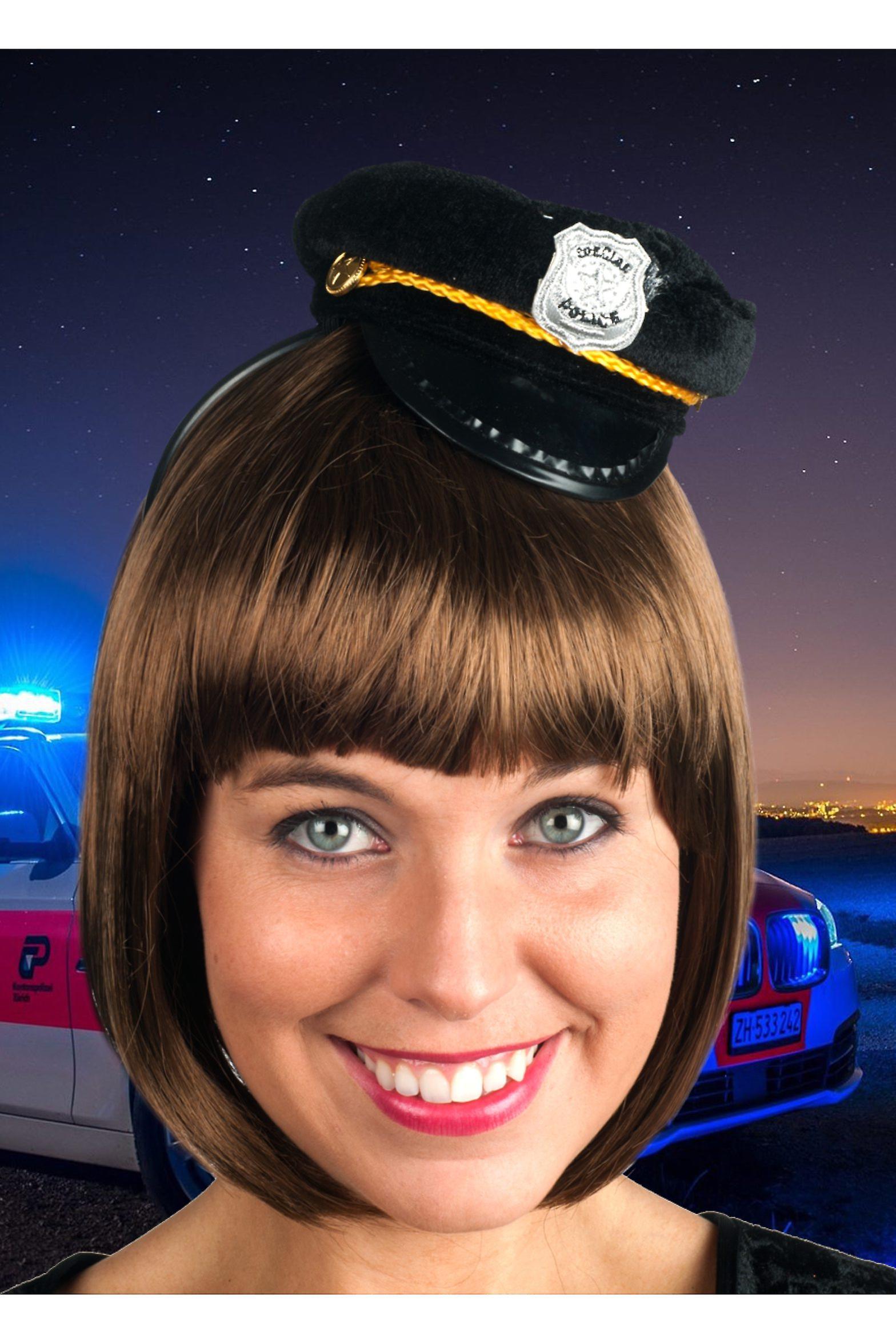 Hattar kvinnor lite Sexig polis hatt  656aeb71904d8