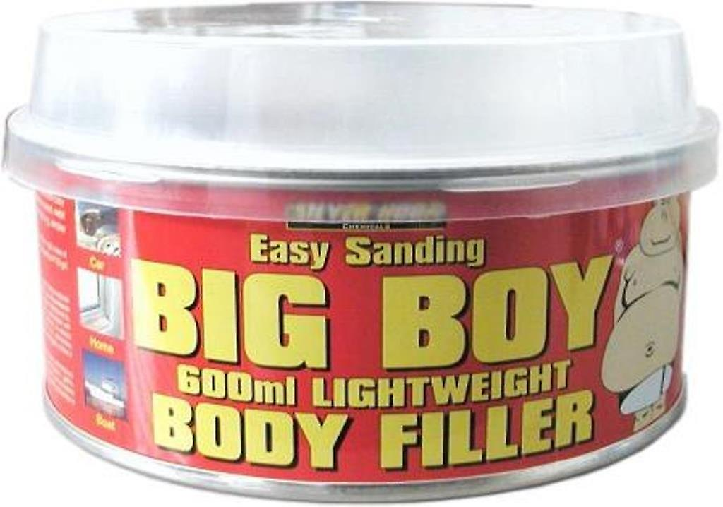 Silverhook Big Boy Body Filler Paste for Paint and Dent Scratch Smart  Repair for Car and Boat Paintshops in 600 ml