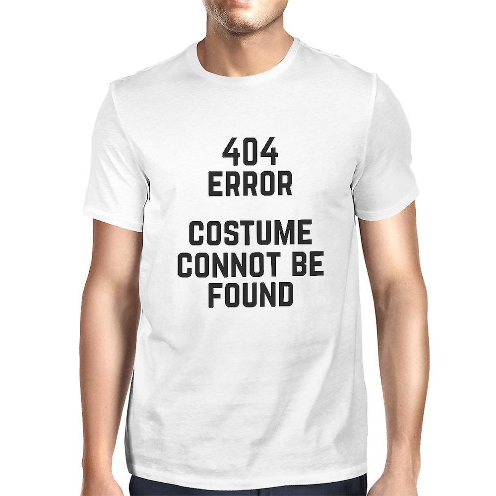 Wanneer Is T Halloween.404 Error Custom Not Found T Shirt Halloween Tee Mens Cute Shirt
