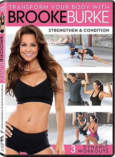 Brooke Burke Transform Your Body Strengthen Condition Dvd Usa