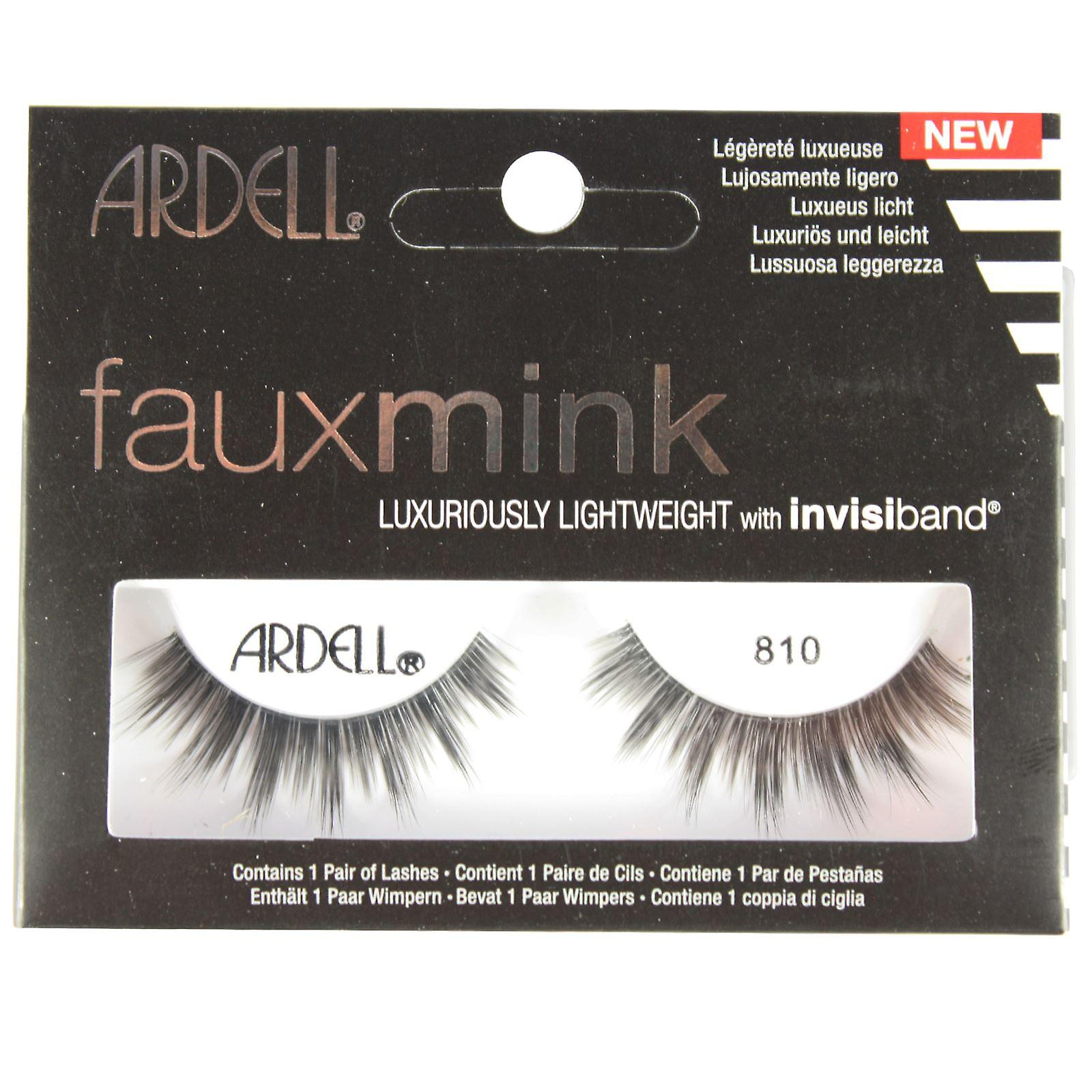 38dc7849253 Ardell Faux Mink False Eyelashes Faux Mink 810 Black | Fruugo