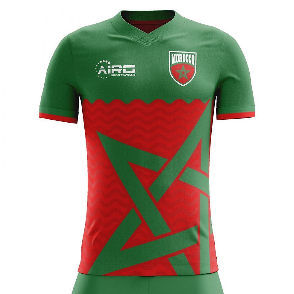 Camisa de futebol 2018-2019 Marrocos em casa conceito  53e77e8ce7ea9