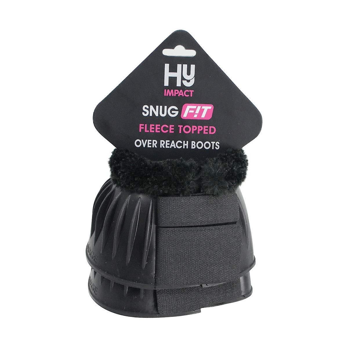 HyImpact SnugFit Fleece Topped Over Reach Boots