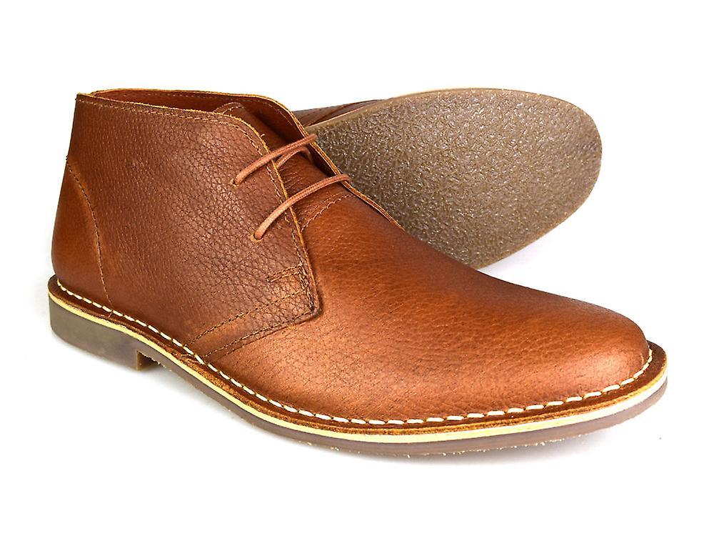 3850972227d Red Tape Gobi Milled Leather Tan Honey Men's Formal Desert Boots