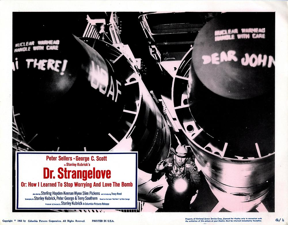 the use of photography in dr strangelove or how i learned to stop worrying and love the bomb