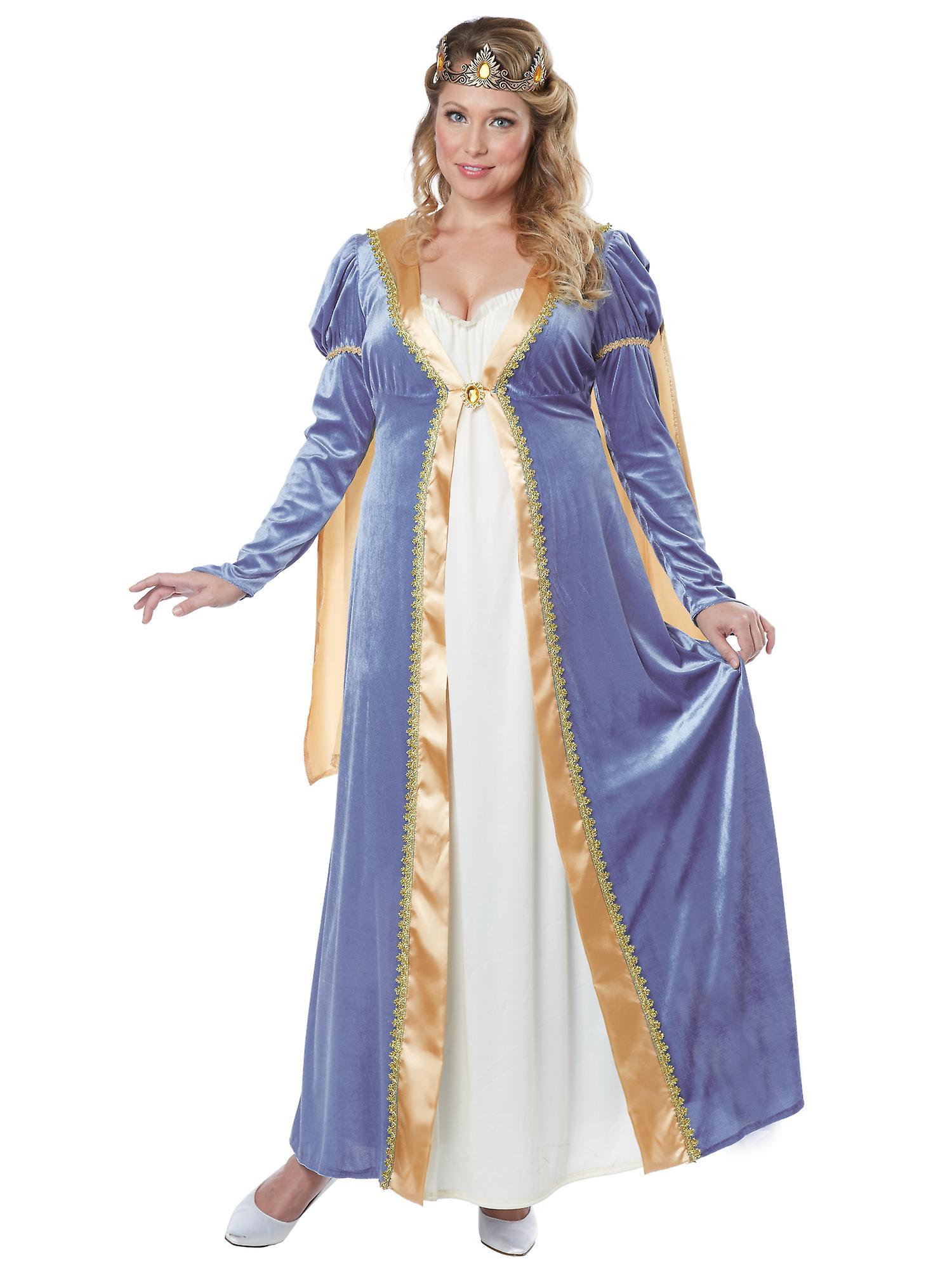 6b3ae8ae373b17 Elegante Kaiserin Renaissance mittelalterliche Königin Prinzessin Damen  Kostüm Plus