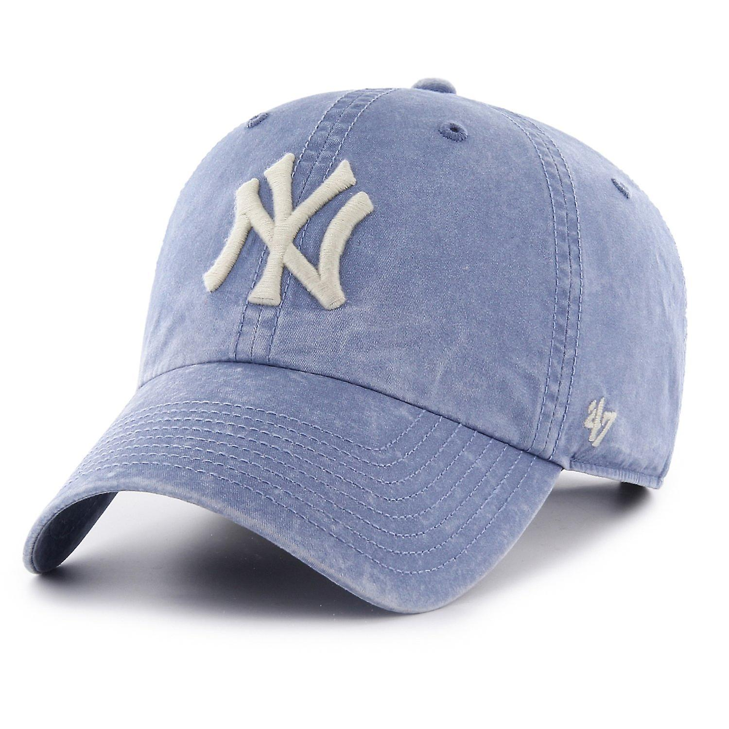 55b48cc1 47 fire relaxed fit Cap - HUDSON New York Yankees sky blue